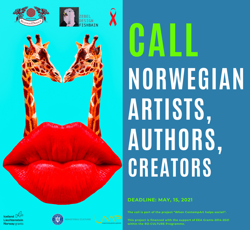 Call for Norwegian artists, authors and creators  for the execution of artistic creations with a social theme